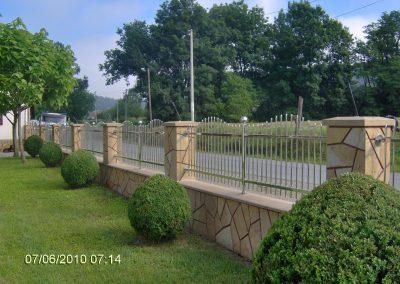inox spoljasnje ograde