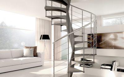 Hromos – inox kružne stepenice